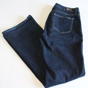 Paige RG Boot Cut Dark Indigo Wash size 31